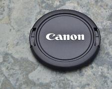 Canon EOS E 58mm ABS Front Lens Cap Chrome Logo 18-55 55-250 75-300  (#1451)