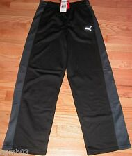 PUMA ACTIVE PANTS BOYS YOUTH SIZE LARGE L CHARCOAL