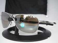 OAKLEY POLARIZED CROSSHAIR Ti SUNGLASSES OO6014-01 Titanium/Tungsten Iridium Pol