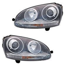 2 FARO ANT. VW GOLF 5 2003-2009 JETTA 3 2005 -2010 XENO CONDUTTORE + PASSEGGERO