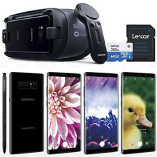 "Samsung Galaxy Note 8 SM-N950 64GB 5.7"" (Unlocked) +GEAR VR +64GB SD Card Bundle"