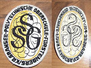Aufnäher DDR SSG  Polytechnische Oberschule Fürstenberg Kr. Gransee Selten