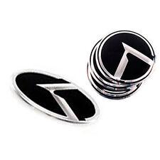 3D K Logo Wheel Cap Steering Wheel Emblem 5p 1Set For 2010 2013 Kia Forte Koup