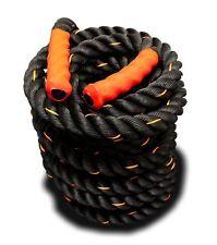 New 2x30FT Poly Dacron Training Fitness Battle Exercise Undulation Rope-Black