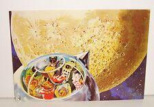 Carte postale les aventures de Caroline Télé-Hachette 1971 neuf espace