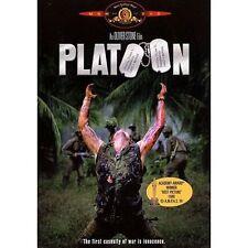 Platoon (Dvd, 2000) - Willem Dafoe, Tom Berenger, Charlie Sheen - Brand New