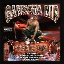 NEW!! CD GANKSTA NIP PSYCHO THUG ~VERY RARE !! ganxta nip XXX RAP