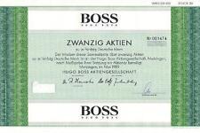 Hugo Boss AG 1000DM Metzingen  1989