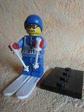 Lego skieur Minifiguren série 2