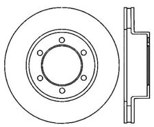 Power Slot Slotted Brake Rotor fits 2000-2007 Toyota Sequoia Tundra  POWER SLOT
