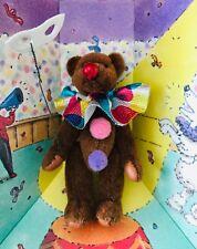 "Littlest Bears Ballerina Gund 7007 Hand Crafted Fully Jointed Teddy 2.25"" NIB"