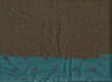 LOT Charles DEMERY Tissu SOULEIADO French Country cotton FABRIC brown Scraps HTF