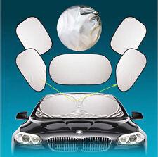 6pcs/set Car Window Sun Shade Foldable Windshield Full Shield Visor Block Cover