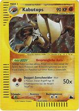 CCG 32 Pokemon Skyridge Holo Kabutops H13/H32 Deutsche Karte
