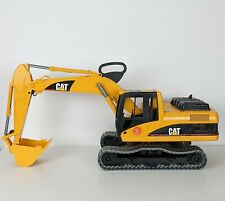 2004 BRUDER FURTH Large Toy Truck Caterpillar CAT Excavator Model 1271/01 Yellow
