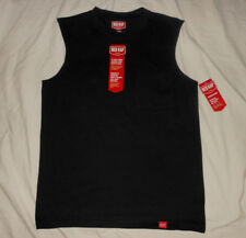 RED KAP Mens M NWT Black Muscle Sleeveless Workwear Tee T Shirt Athletic Gym M