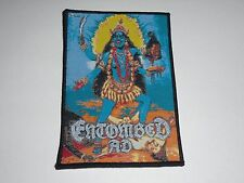 ENTOMBED AD TOTAL DEATH WOVEN PATCH