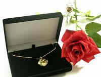 Collier Gelb Gold 750 necklace Medaillon Geschenk email Brillant 0,53 diamond