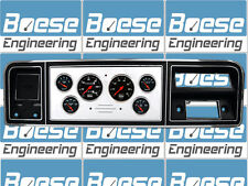 73 74 75 76 77 78 79  Ford Truck Billet Aluminum Gauge Panel Dash Insert  F-100