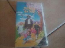 Cassette  video VHS MELODIE DU SUD Par Walt Disney ( jamais sorti en dvd )