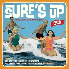 SURF'S UP (LIMITED METALBOX ED.) 3 CD NEW! DICK DALE/THE VENTURES/THE FIREBALLS