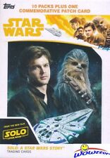 2018 Topps SOLO: A Star Wars Story EXCLUSIVE Factory Sealed Blaster Box-PATCH!