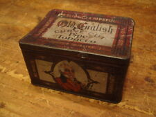 OLD ENGLISH TOBACCO TIN CURVE CUT CAN CURVED CAN TIN VINTAGE