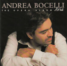 Andrea Bocelli ‎CD Aria - The Opera Album - France