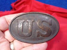 Vintage Civil War Us Box Plate