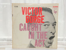 "Victor Borge - Caught In The Act 12"" LP c1950s"