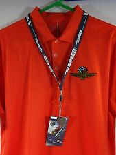 2007 Indianapolis 500 Silver Pit Badge Lanyard Race Day Hard Card Credential