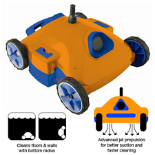 """Automatic Pool Vacuum 18"""" Robot Swimming Floor Cleaner Wall Maintenance Rover"""