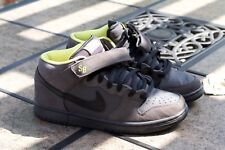 "NIKE SB ""BATMAN"" SIZE 9 AUTHENTIC MID ORIGINAL GREY DARK KNIGHT"