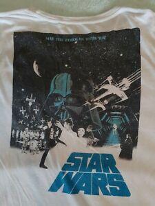 STAR WARS/ White/ Size 4XL/---------A1-T SHIRT