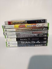 Xbox 360 Games Bundle Lot Of 7 CALL OF DUTY Halo Assassin's Creed