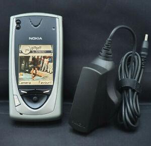 Nokia 7650 NHL-2NA Grey Unlocked Smartphone Fully Working