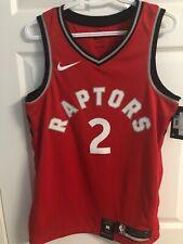 NikeConnect Raptors Jersey Kawhi Leonard Size Medium Color Red Standard Fit