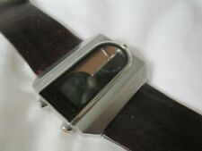 Fossil Water Resistant Digital/Analog Wristwatch w/ Adjustable Band WORKING!