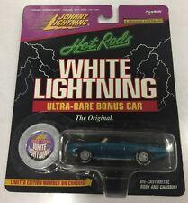 Johnny Lightning Ford Thunderbird, White Lightining, Ultra Rare Bonus Car. New.