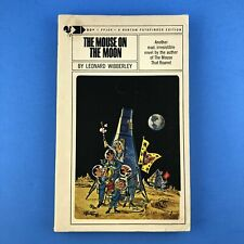 The Mouse on the Moon by Leonard Wibberley - Bantam Vintage Paperback 1965