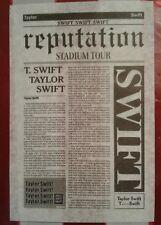 4 Pieces Taylor Swift Reputation Stadium Tour Show Used Confetti