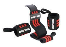 "Wrist Wraps 18"" Perfect for Weightlifting Elastic Wrist Supports Durable Tough"
