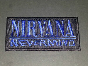 Nirvana Sew or Iron On Patch