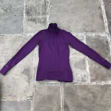 Lululemon Womens Longsleeve Top Mauve Sz 6 /UK 10 Half Zip Define Jacket RRP£148