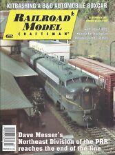 Railroad Model Craftsman Magazine March 2001 Kitbashing B&O Automobile Boxcar