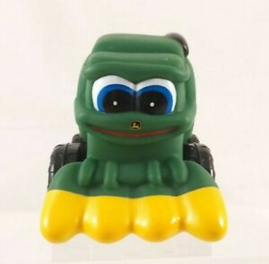 "Ertl John Deere Chunky Toddler Toy Green/Yellow Combine Harvester 4"" Long"