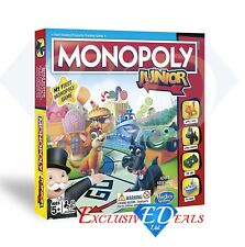Official Hasbro Gaming Monopoly Junior Board Game - !!! Brand New !!!
