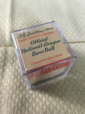 Old 1950's Spalding Official National League Baseball Box Only