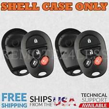 2 for 2004 2005 2006 2007 2008 Toyota Solara Remote Shell Case Car Key Fob Cover
