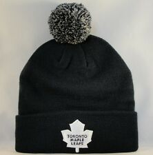 Toronto Maple Leafs NHL Zephyr Cuffed Knit Pom Hat Navy